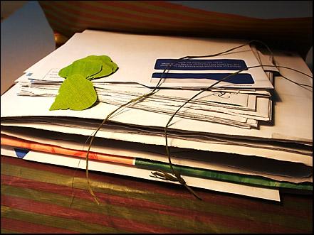 ett brev på posten