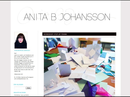 Anita B Johansson blogg