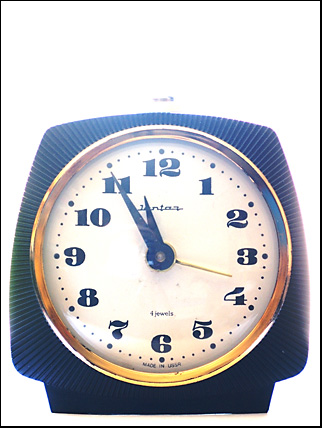 clock made in ussr