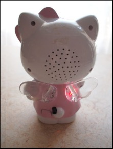 Hello Kitty väckarklocka bildspel