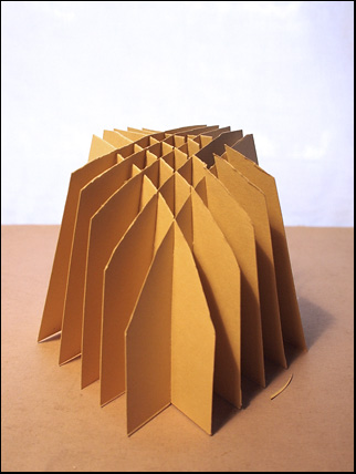 sliceform pyramid cut 3