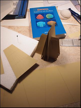 sliceform pyramid