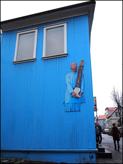 The Nectar Music store in Reykjavik