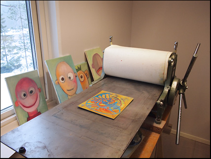 Marianne Laimer studio