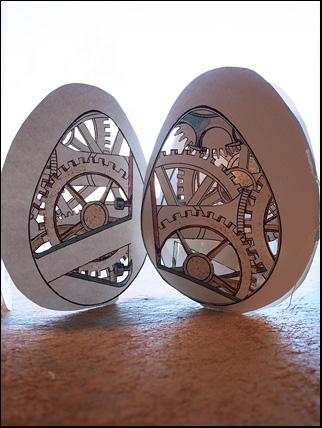 kugghjul i ägg