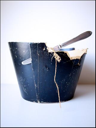 kniven i asken