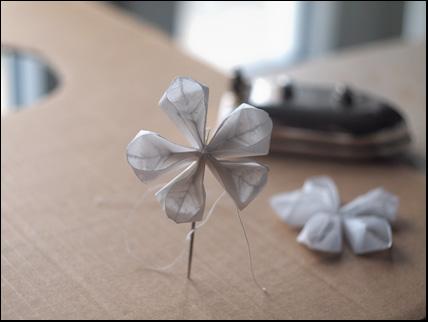 waxpaper flower