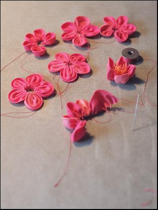 pink flax-flower