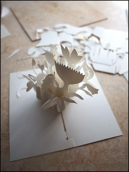 sliceform flowerbox
