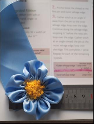 U-gather petals
