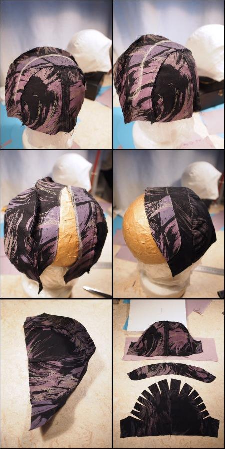 draw a new cloche hat pattern