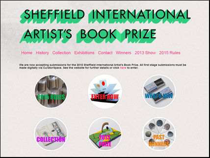 Sheffield international artist's book prize