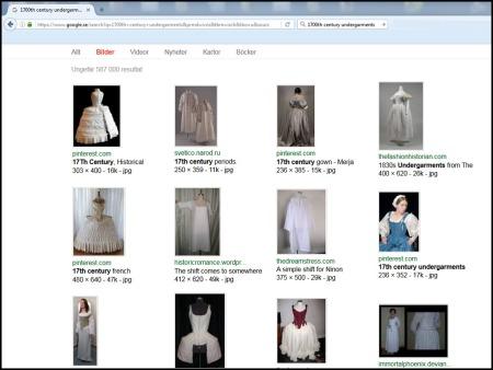 google search undergarments
