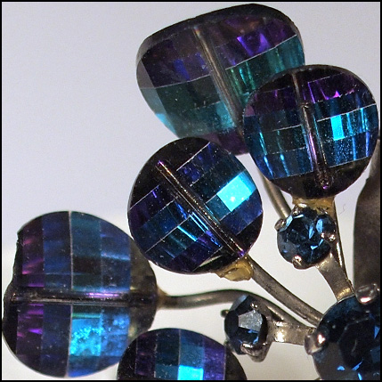 close up Light catcher borealis glass beads