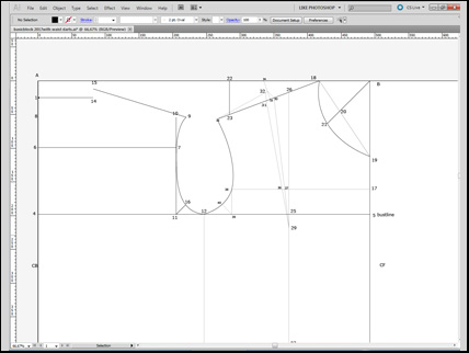 constructing a basic block pattern