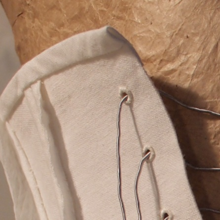 Soft Wire binding detail